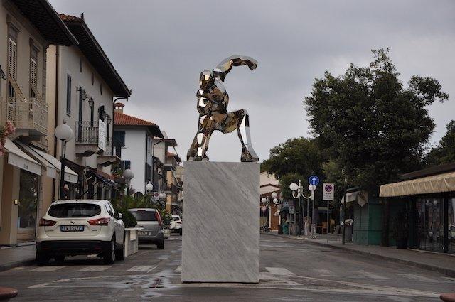 Iron Man in Forte dei Mare, Italy